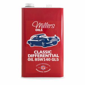 Millers Oils Classic Differential Oil 85w140 GL5 5L 7930-5L