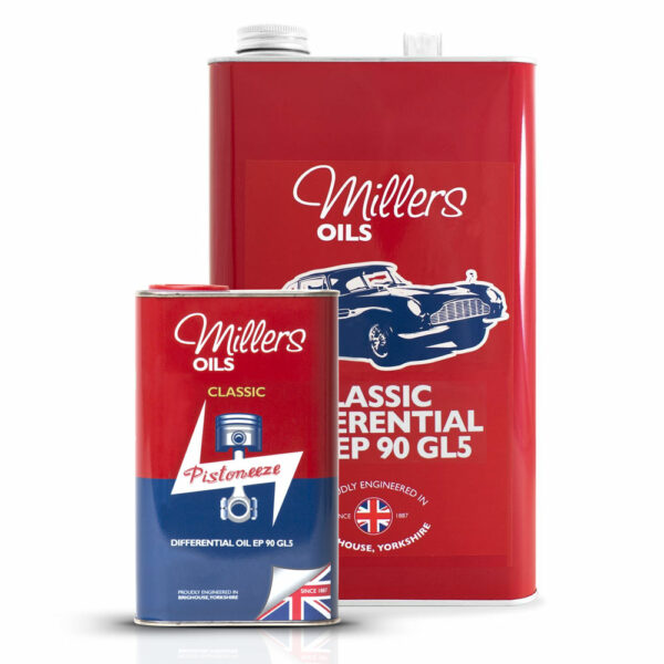 Millers Oils Classic Differential Oil EP 90 GL5 7929-1L & 7929-5L