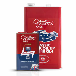 Millers Oils Classic Gear Oil EP 140 GL4 1L 5L 7928-1L & 7928-5L