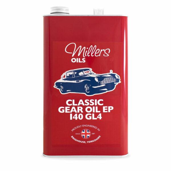 Millers Oils Classic Gear Oil EP 140 GL4 5L 7928-5L