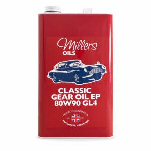 Millers Oils Classic Gear Oil EP 80w90 GL4 5L 7927-5L