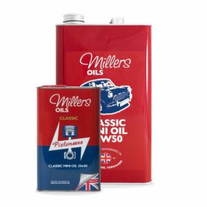 Millers Oils Classic Mini Oil 20w50 Engine Oil 1L 5L 7914-1L 7914-5L