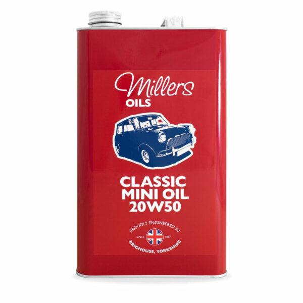 Millers Oils Classic Mini Oil 20w50 Engine Oil 7914-5L