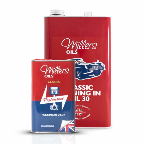 Millers Oils Classic SAE 30 Break-In Oil 1L 5L 7932-1L & 7932-5L