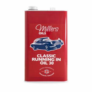 Millers Oils Classic SAE 30 Break-In Oil 5L 7932-5L