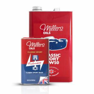 Millers Oils Classic Sport 20w50 Engine Oil 1L 5L 7912-1L & 7912-5L