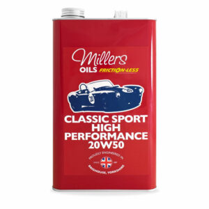 Millers Oils Classic Sport High Performance 20w50 Engine Oil 5L 7911-5L