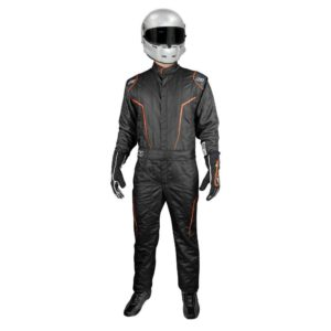 K1 Race Gear GT2 SFI Driver's Suit Black/Orange