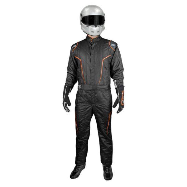 K1 Race Gear GT2 SFI Driver's Suit Black/Orange