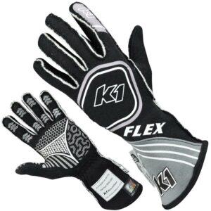 K1 RaceGear Flex Glove Black 23-FLX-NG