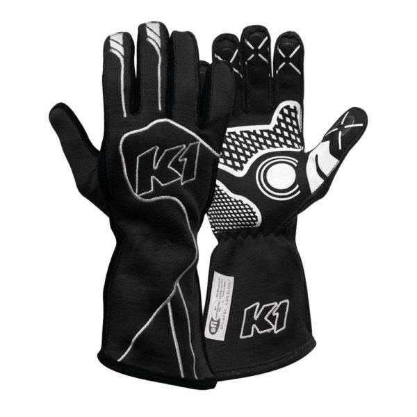 K1 Racegear Champ Black Gloves