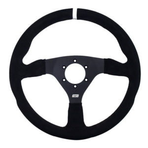 Gt2i Pro Suede Steering Wheel Flat Black