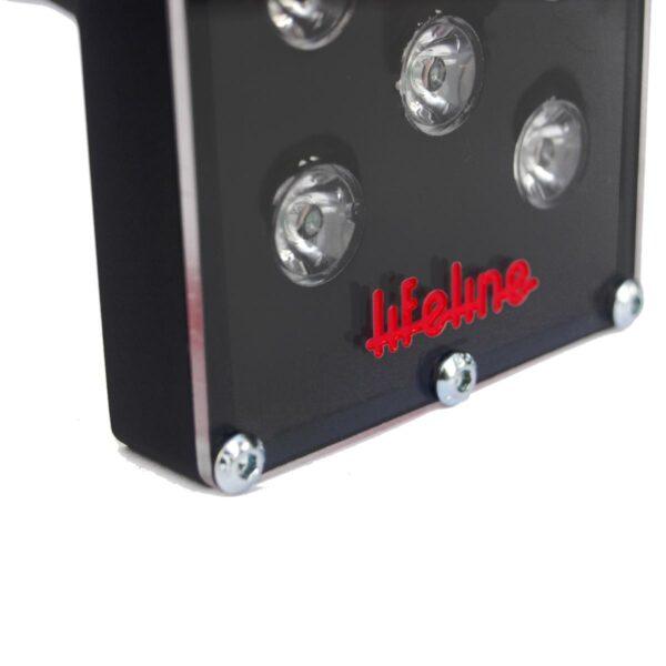 421-100-005 - Lifeline High Intensity LED Rain Light closeup