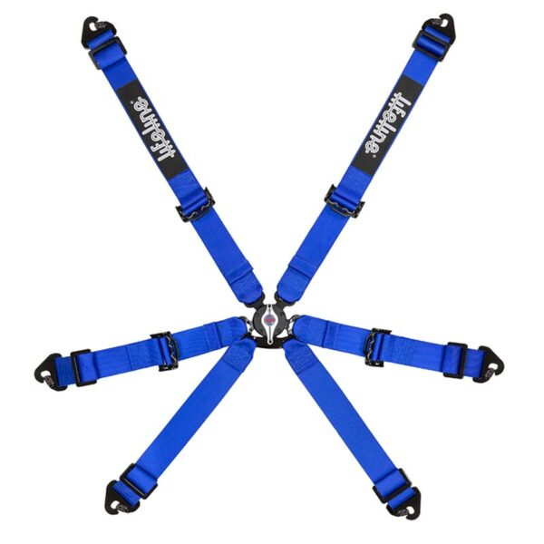 Lifeline Blue Becketts 6-pt 2 Inch Racing Harness