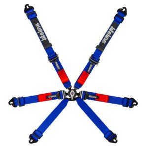 Lifeline Copse Blue 6pt FIA 8853-2016 Harness - 2 inch Snap Hook