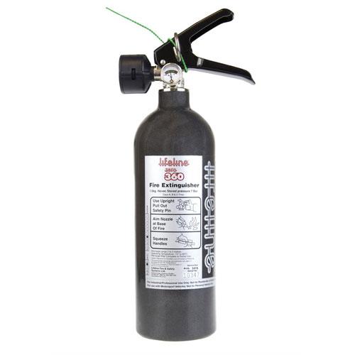 Lifeline Zero 360 1.0kg Novec 1230 Belt Mount Hand Held Fire Extinguisher