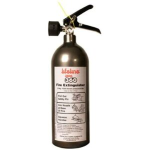Lifeline Zero 360 Novec 1230 Hand Held Extinguisher