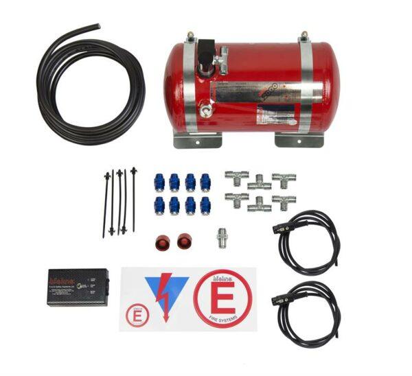 Zero 2000 FIA 4.0 ltr Electric Fire Suppression System