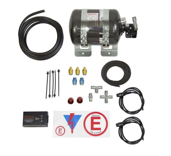 Lifeline Zero 360 FIA 2.25kg Novec 1230 Stored Pressure Electric System