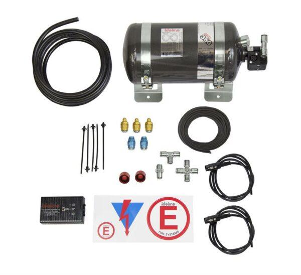 Zero 360 FIA 3.0kg Novec 1230 Stored Pressure Electric System