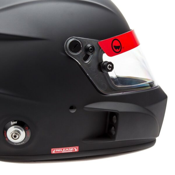 Roux R1 Fiberglass SA2020 Helmet RXHR1F-20F55 Right Back Side