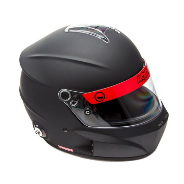Roux R1 Fiberglass SA2020 Helmet RXHR1F-20F55 Top Side