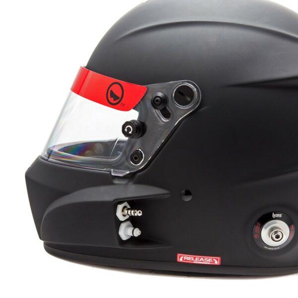 Roux R1 Fiberglass SA2020 Helmet RXHR1F-20F55 left side