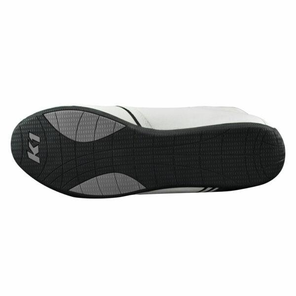 K1 GTX-1 Nomex Auto Racing Shoe white bottom