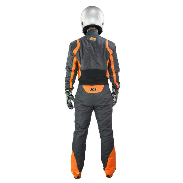 K1 RaceGear Precision II Suit SFI Orange Auto Racing Suit Back