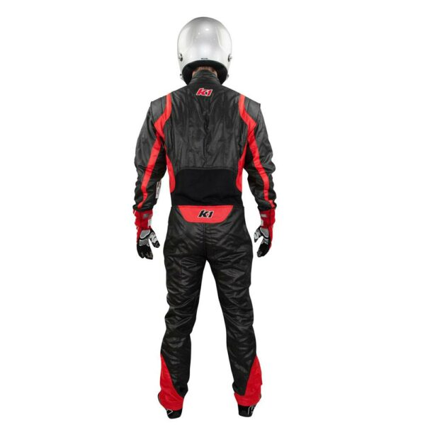 K1 RaceGear Precision II Suit SFI Red Auto Racing Suit Back
