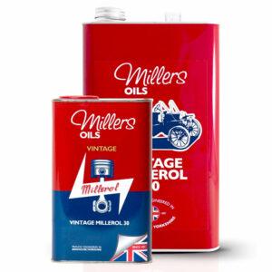 Millers Oil Vintage Millerol 30 Engine Oil 7905-1L & 7905-5L
