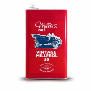 Millers Oil Vintage Millerol 50 Engine Oil 5L 7907-5L