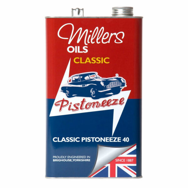 Millers Oils Classic Pistoneeze 40 Engine Oil 5L 7909-5L