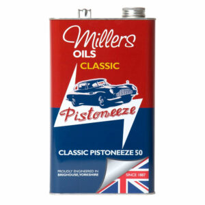 Millers Oils Classic Pistoneeze 50 Engine Oil 5L 7910-5L