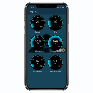 Apex Pro OBDII Interface phone app