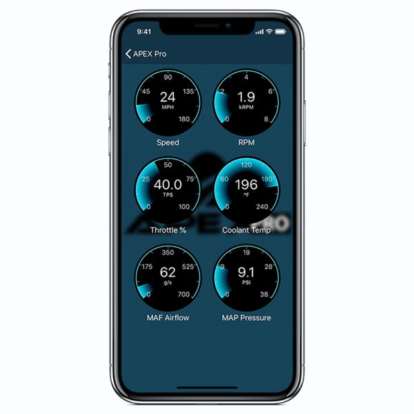 Apex Pro OBDII Interface phone app