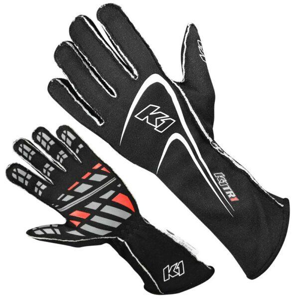 K1 RaceGear Motorsport Track 1 Glove Black
