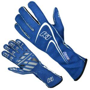 K1 RaceGear Motorsport Track 1 Glove Blue